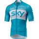 Castelli Team Sky Climber's 2.0 Kortærmet cykeltrøje Herrer blå